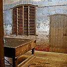 Another Woolshed Scene by Julie Sleeman