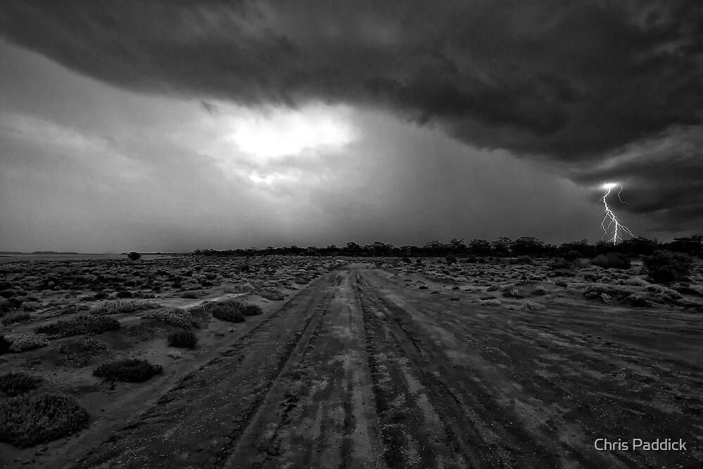 Salt Creek  - Kalgoorlie Gold Fields-  Western Australia  by Chris Paddick