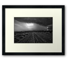 Salt Creek  - Kalgoorlie Gold Fields-  Western Australia  Framed Print