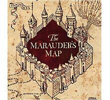 marauders map Photographic Print