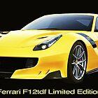 Ferrari F12tdf Limited Edition by ChasSinklier