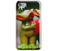 Frogs in love iPhone Case/Skin