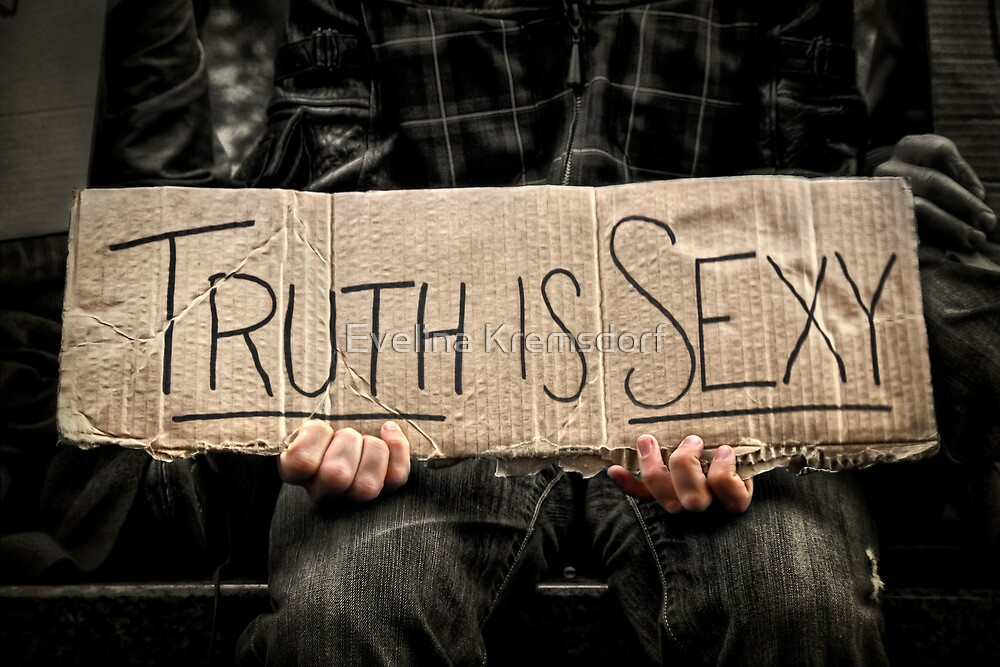 Truth Is Sexy by Evelina Kremsdorf