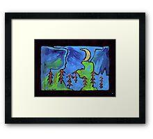 Midnight Garden cycle7 6 Framed Print