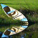 Lonely Canoe by Deborah Clearwater