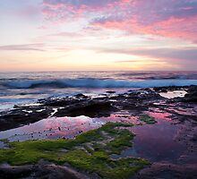 Sunrise, Newcastle NSW Australia by Melina Roberts