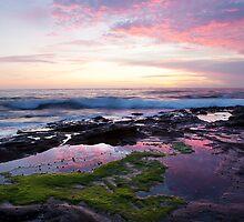 Sunrise, Newcastle NSW Australia by Melina Roberts