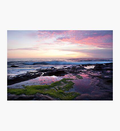 Sunrise, Newcastle NSW Australia Photographic Print