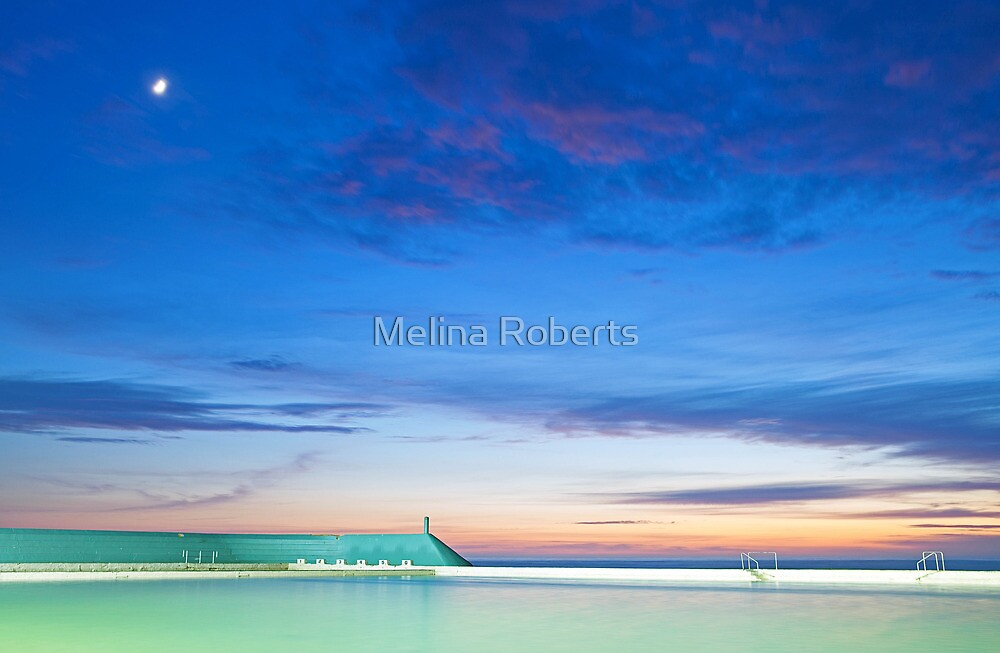 Newcastle Baths, NSW Australia by Melina Roberts