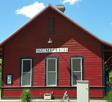 The Red Depot - SVRR by BettyEDuncan