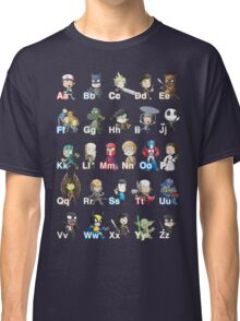 ABC of Geek Culture Classic T-Shirt