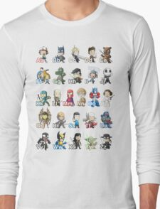 ABC of Geek Culture Long Sleeve T-Shirt