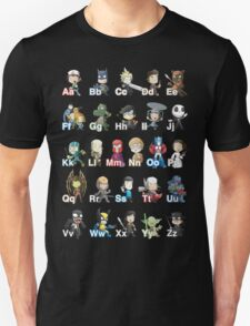 ABC of Geek Culture Unisex T-Shirt