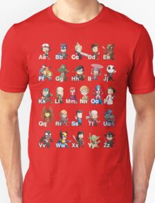 ABC of Geek Culture T-Shirt