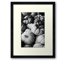 Baby Boos in Black and White Framed Print