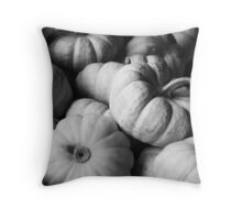 Baby Boos in Black and White Throw Pillow
