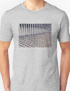 Dune Fence and Shadows T-Shirt