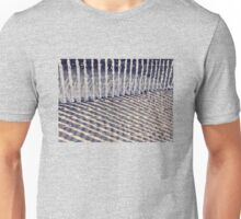Dune Fence and Shadows Unisex T-Shirt