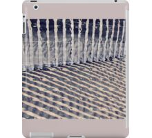 Dune Fence and Shadows iPad Case/Skin
