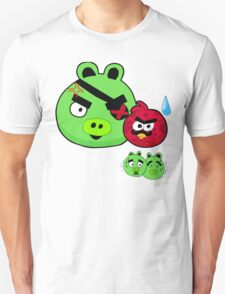 Angry birds tribute made by me T-Shirt