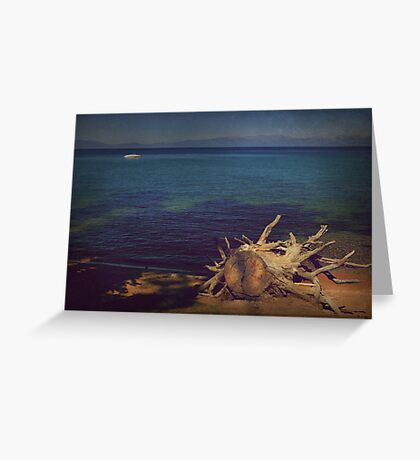Water and Light Greeting Card