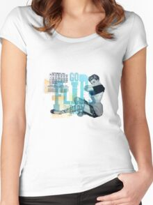GoFlipsBaby Women's Fitted Scoop T-Shirt