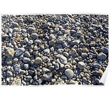 Beach Pebbles Poster