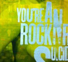 RockNRollSuicide2 Sticker