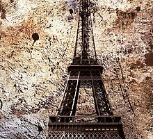 Paris Grunge iPhone Case by AmbientKreation