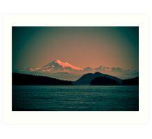 Mount Baker, Washington Art Print