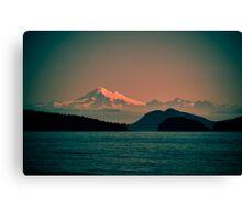 Mount Baker, Washington Canvas Print