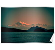 Mount Baker, Washington Poster