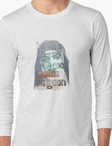 MaryMacKillopOnGoonTee Long Sleeve T-Shirt