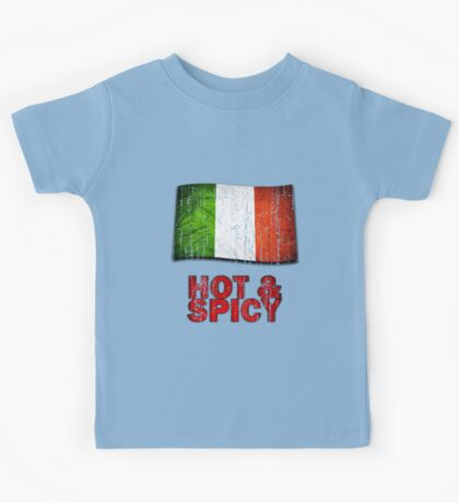 Hot And Spicy Italian Kids Tee