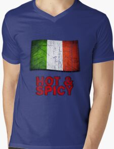 Hot And Spicy Italian Mens V-Neck T-Shirt