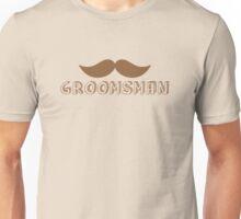 MUSTACHE theme wedding: Groomsman Unisex T-Shirt