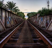 Railroad Bridge - Gainesville, FL by njordphoto