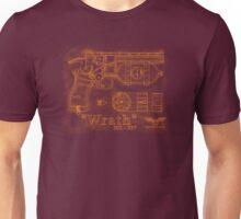 """HC - 537 """"Wrath"""" (Golden) Unisex T-Shirt"""