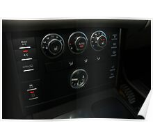 2010 Range Rover HSE Control Panel  Poster