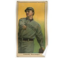 Benjamin K Edwards Collection Arch Persons Montgomery Team baseball card portrait Poster
