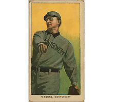 Benjamin K Edwards Collection Arch Persons Montgomery Team baseball card portrait Photographic Print