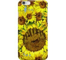 IPhone Case: Smiling Sunflowers iPhone Case/Skin