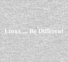 Linux ... Be Different Baby Tee