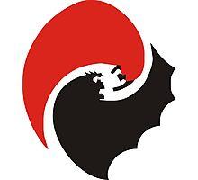 Bat v Super Photographic Print