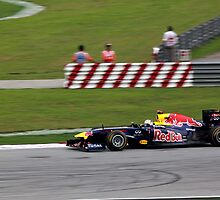 Sebastian Vettel in his Red Bull Racing F1  by 3rdeyelens