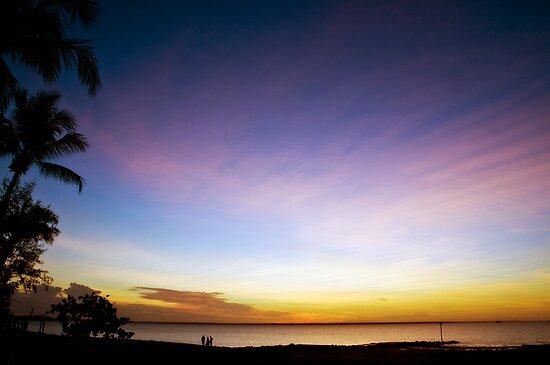 Darwin Sunset 2 by Simon Fallon