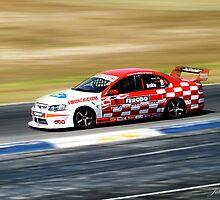 V8 Racing, Barbegello Raceway, WA by Julia Harwood