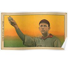 Benjamin K Edwards Collection Barney Pelty St Louis Browns baseball card portrait 001 Poster