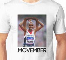 Mo Farah - Movember Unisex T-Shirt