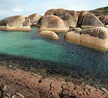 Elephant Rocks. William Bay. Western Australia. by John Sharp